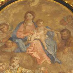Pala altare San Rocco